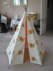Betty's teepee