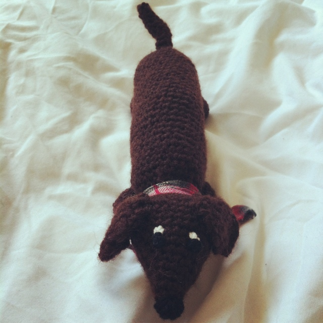 Wiener Dog Dilly Tante