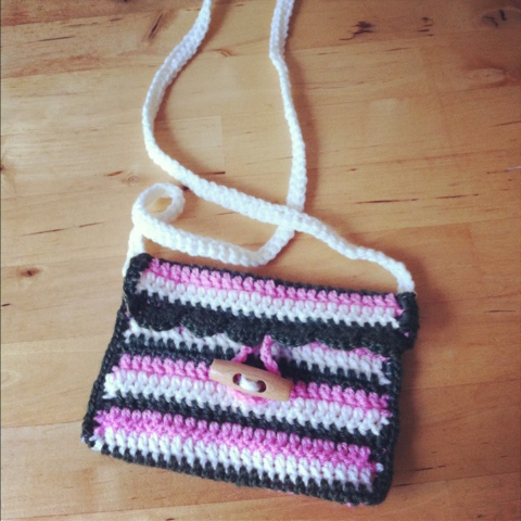 Crochet Girl Bag : Crochet bag for a little girl Dilly Tante