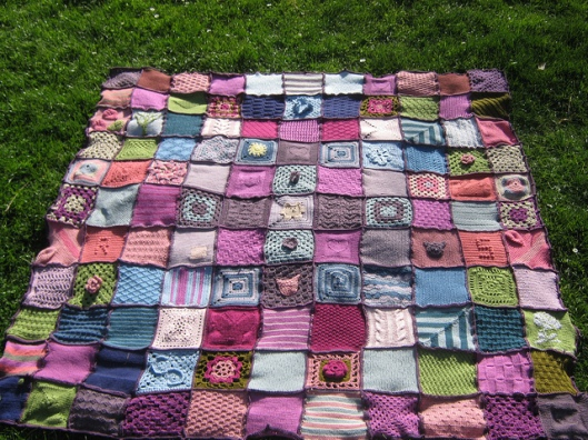 Mumsnet Crochet Blanket