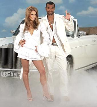 Ashley and Cheryl Cole Lottery Advert