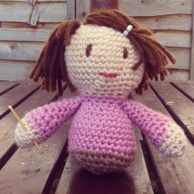 Crochet Amigrumi Mini-Me